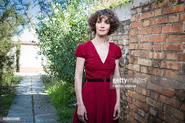 Actress Miranda July is photographed for Self Assignment on August 28 2014 in Venice Italy