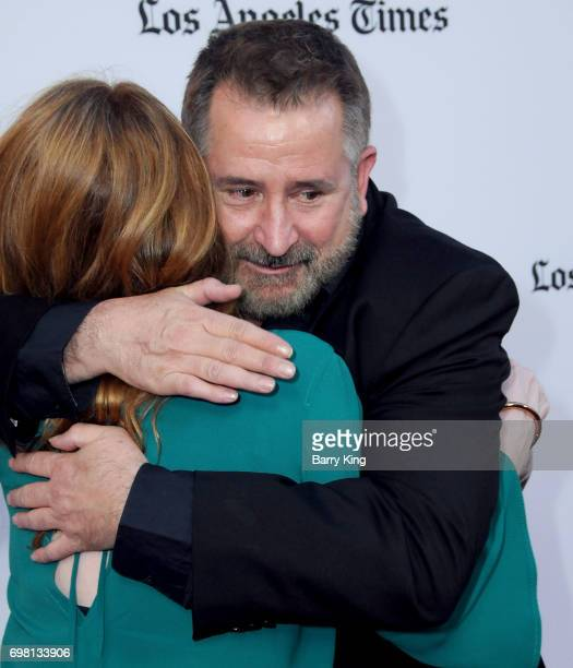 Actress Miranda Otto and actor Anthony LaPaglia attend the 2017 Los Angeles Film Festival Premiere of Warner Brothers Pictures' 'Annabelle Creation'...