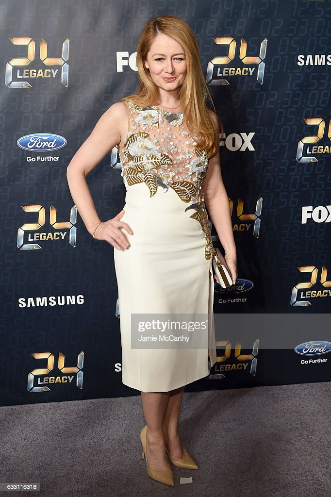 Actress Miranda Otto attends the '24: LEGACY' Premiere Event at Spring Studios on January 30, 2017 in New York City.