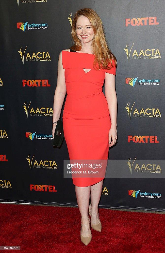 Actress Miranda Otto attends the AACTA International Awards at Avalon Hollywood on January 29, 2016 in Los Angeles, California.