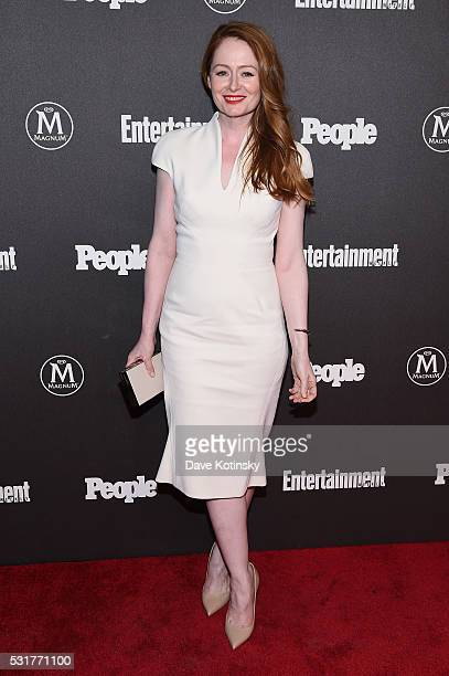 Actress Miranda Otto attends the Entertainment Weekly People Upfronts party 2016 at Cedar Lake on May 16 2016 in New York City