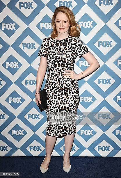 Actress Miranda Otto attends the FOX AllStar 2014 winter TCA party at The Langham Huntington Hotel and Spa on January 13 2014 in Pasadena California