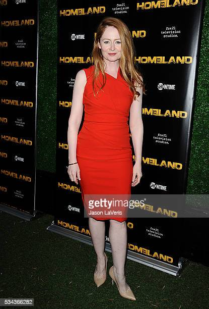 Actress Miranda Otto attends the Homeland Emmy FYC event at Zanuck Theater at 20th Century Fox Lot on May 25 2016 in Los Angeles California