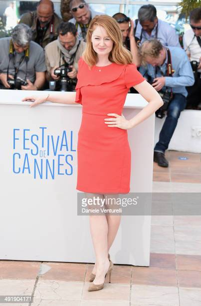 Actress Miranda Otto attends 'The Homesman' photocall at the 67th Annual Cannes Film Festival on May 18 2014 in Cannes France