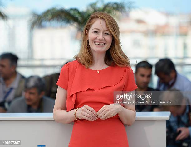 Actress Miranda Otto attends The Homesman photocall at the 67th Annual Cannes Film Festival on May 18 2014 in Cannes France