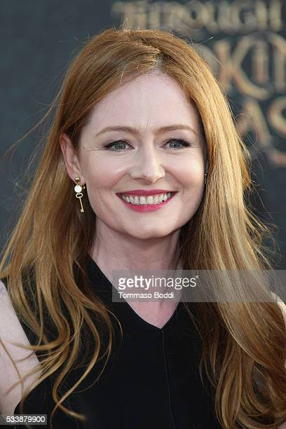 Actress Miranda Otto attends the premiere of Disney's Alice Through The Looking Glass at the El Capitan Theatre on May 23 2016 in Hollywood California