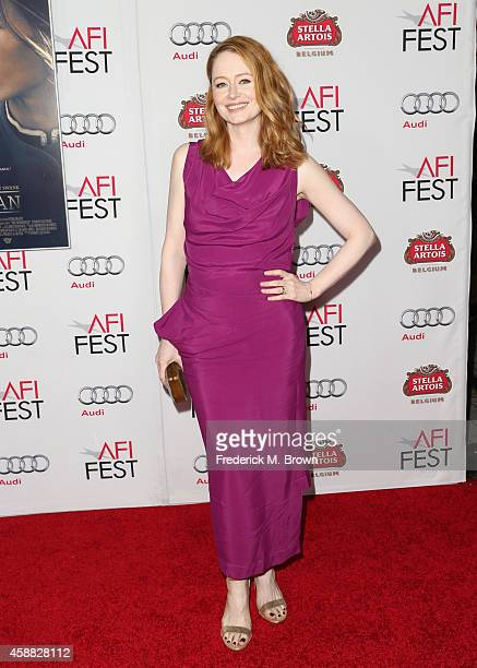 Actress Miranda Otto attends the screening for 'The Homesman' during AFI FEST 2014 presented by Audi at the Hollywood Roosevelt Hotel on November 11...
