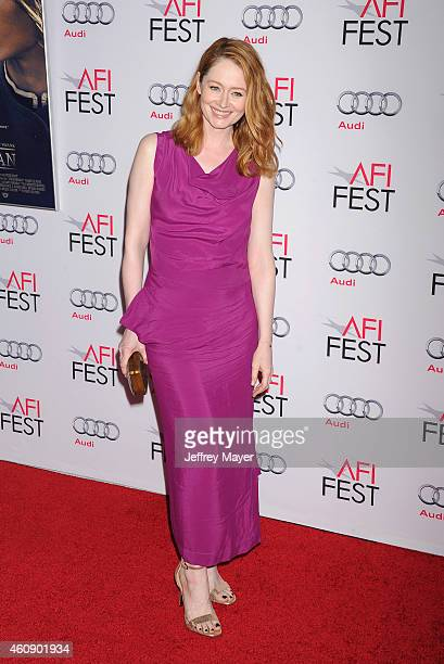 Actress Miranda Otto attends the 'The Homesman' premiere during AFI FEST 2014 presented by Audi at the Dolby Theater on November 11 2014 in Hollywood...