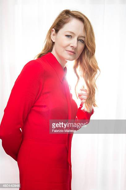 Actress Miranda Otto is photographed for The Hollywood Reporter on September 5 2015 in Venice Italy