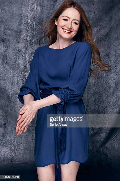 Actress Miranda Otto is photographed for The Wrap on May 25 2016 in Los Angeles California