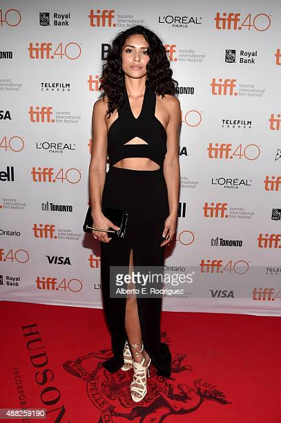Actress Miranda Rae Mayo attends The Girl In The Photographs photo call during the 2015 Toronto International Film Festival at Ryerson Theatre on...