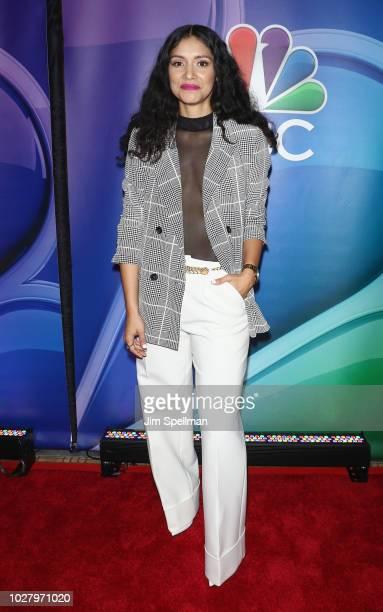 Actress Miranda Rae Mayo attends the NBC Fall New York Junket at Four Seasons Hotel New York on September 6 2018 in New York City