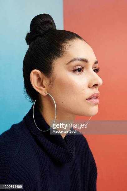 Actress Miranda Rae Mayo is photographed for Entertainment Weekly Magazine on February 27, 2020 at Savannah College of Art and Design in Savannah,...
