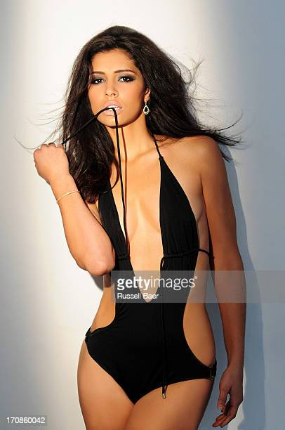 Actress Miranda Rae Mayo is photographed for Maxim Magazine on April 10 2013 in Santa Monica California PUBLISHED IMAGE