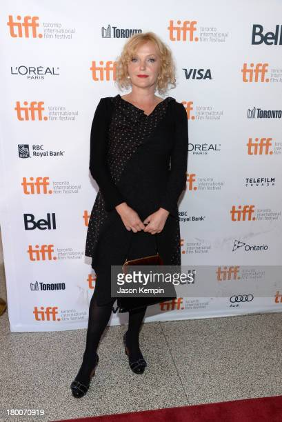 Actress Miranda Richardson arrives at the 'Belle' Premiere during 2013 Toronto International Film Festival at The Elgin on September 8 2013 in...