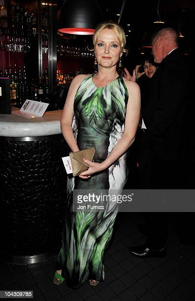 "Actress Miranda Richardson attends the ""Made In Dagenham"" world premiere after party at Floridita on September 20, 2010 in London, England."