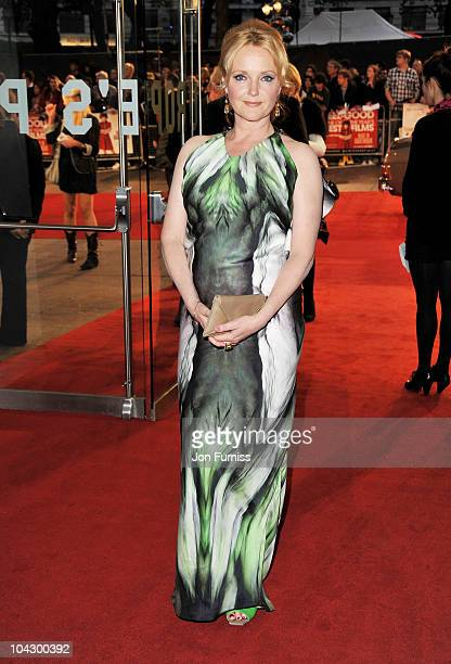 Actress Miranda Richardson attends the Made in Dagenham world premiere at the Odeon Leicester Square on September 20 2010 in London England