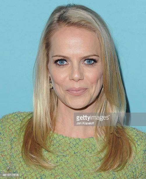 Actress Mircea Monroe arrives at Showtime Celebrates AllNew Seasons Of 'Shameless' 'House Of Lies' And 'Episodes' at Cecconi's Restaurant on January...