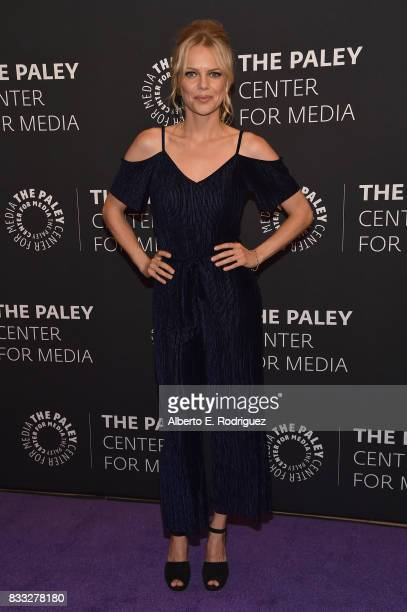 Actress Mircea Monroe attends the 2017 PaleyLive LA Summer Season Premiere Screening And Conversation For Showtime's Episodes at The Paley Center for...