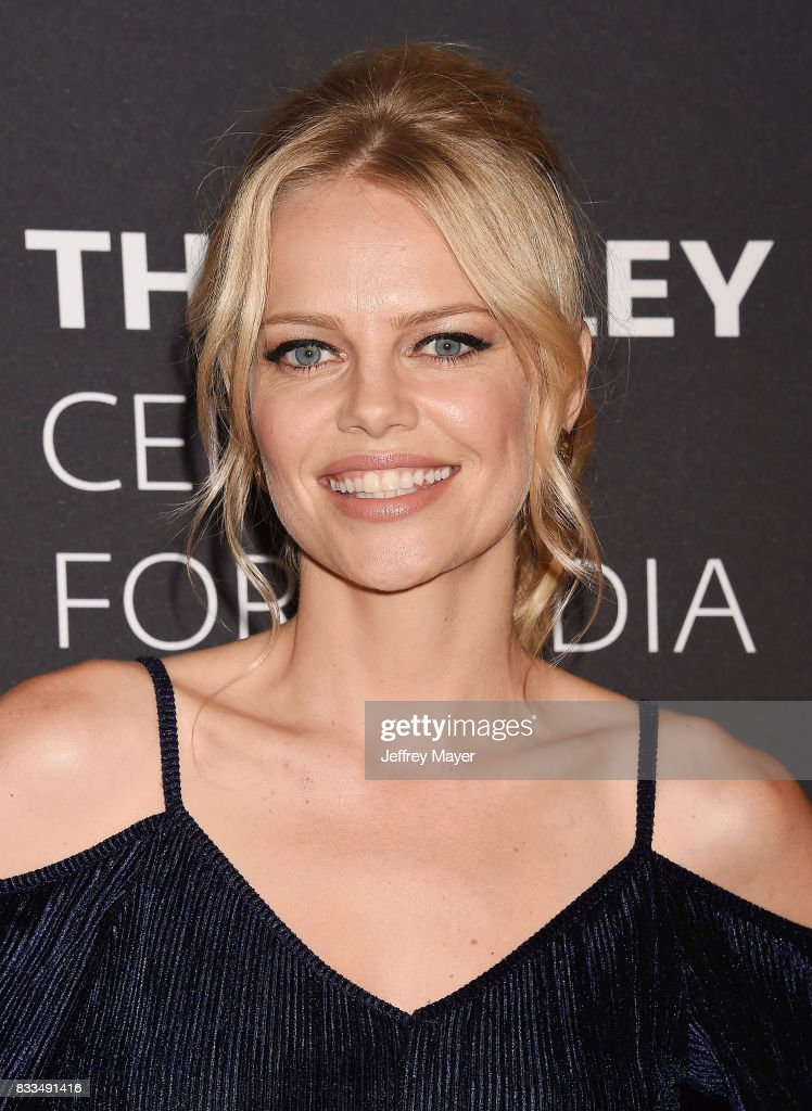 Actress Mircea Monroe attends the 2017 PaleyLive LA Summer Season Premiere Screening And Conversation For Showtime's 'Episodes' at The Paley Center for Media on August 16, 2017 in Beverly Hills, California.