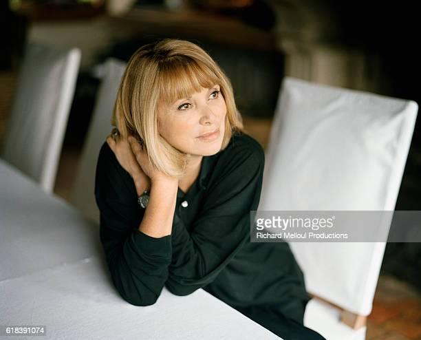 Actress Mireille Darc