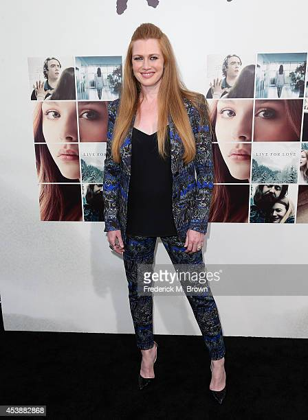 Actress Mireille Enos attends the Premiere of New Line Cinema's and MetroGoldwynMayer Pictures' 'If I Stay' at TCL Chinese Theatre on August 20 2014...