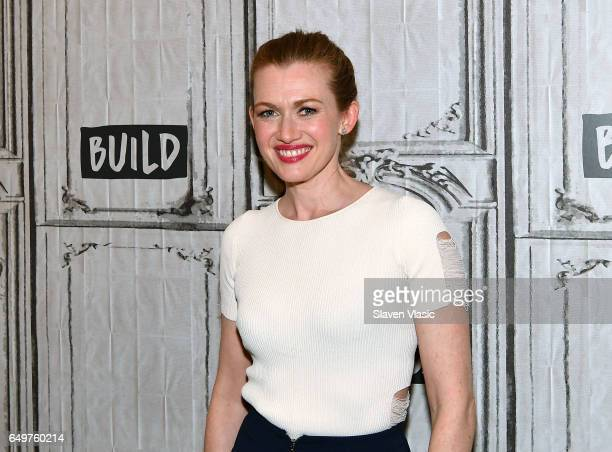 Actress Mireille Enos visits the BUILD Series to discuss 'The Catch' at Build Studio on March 8 2017 in New York City