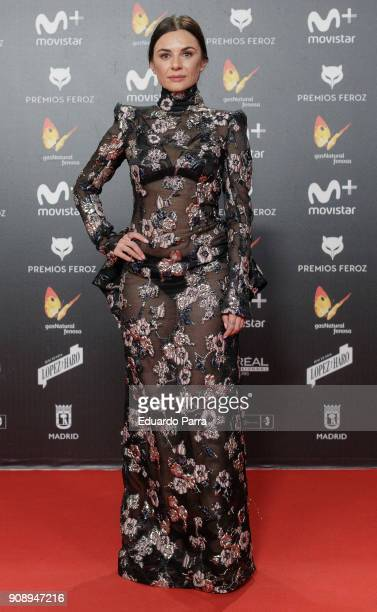Actress Miren Ibarguren attends Feroz Awards 2018 at Magarinos Complex on January 22 2018 in Madrid Spain