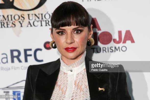 Actress Miren Ibarguren attends the 28th Union de Actores awards photocall at Circo Price on March 11 2019 in Madrid Spain
