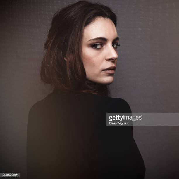 Actress Miriam Dalmazio is photographed for Self Assignment, on April, 2018 in Cannes, France. . .