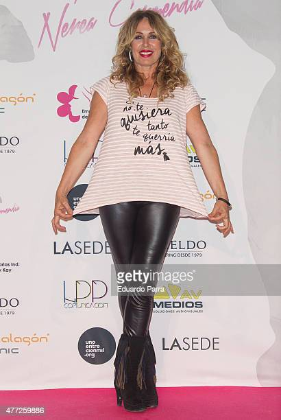 Actress Miriam Diaz Aroca attends 'By Nerea' 1st Anniversary photocall at COAM on June 15 2015 in Madrid Spain