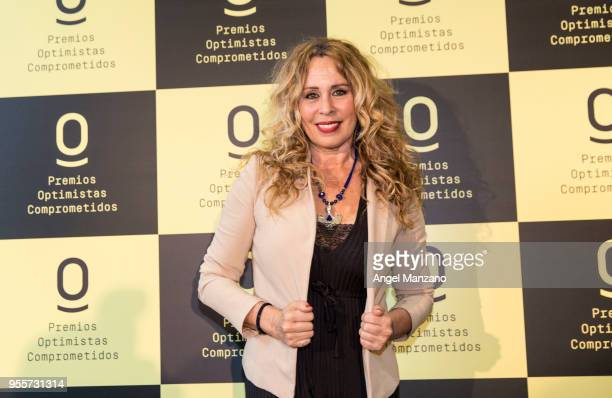 Actress Miriam Diaz Aroca attends 'Optimistas Comprometidos' Awards 2018 on May 7 2018 in Madrid Spain