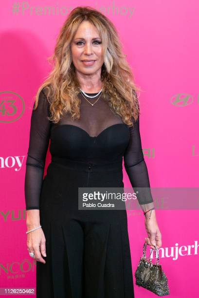 Actress Miriam DiazAroca attends the 10th 'MujerHoy' awards at 'Casino de Madrid' on January 30 2019 in Madrid Spain
