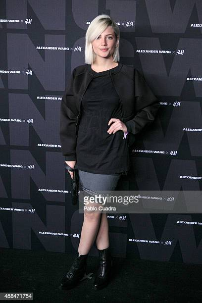 Actress Miriam Giovanelli attends the Alexander Wang X HM Party at 'But' Club on November 5 2014 in Madrid Spain