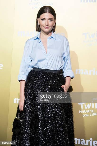 Actress Miriam Giovanelli attends the Marie Claire Prix de la Moda 2015 at the Callao cinema on November 19 2015 in Madrid Spain