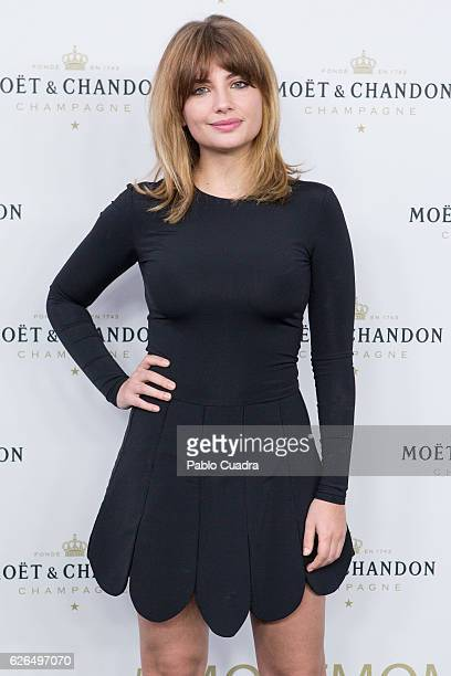 Actress Miriam Giovanelli attends the 'Moet Chandon' New Year's Eve party at Florida Retiro on November 29 2016 in Madrid Spain