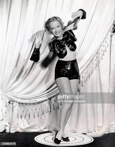 Actress Miriam Hopkins Dancing