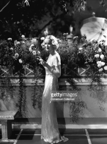 Actress Miriam Hopkins in a scene from the movie Design for Living