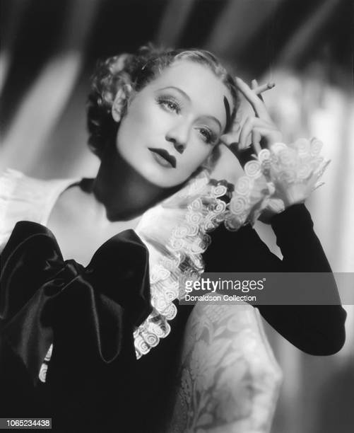 Actress Miriam Hopkins in a scene from the movie She Loves Me Not