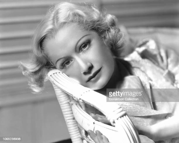 Actress Miriam Hopkins in a scene from the movie Woman Chases Man