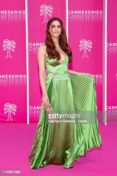 Actress Miriam Leone attends the 2nd Canneseries International Series Festival Opening Ceremony on April 05 2019 in Cannes France