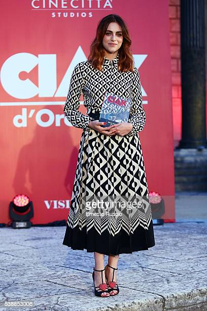 Actress Miriam Leone attends the Ciak D'Oro 2016 awards at Cinecitta on June 8 2016 in Rome Italy