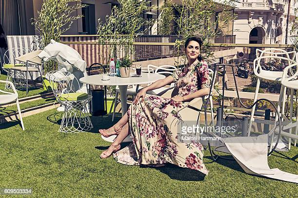 Actress Miriam Leone is photographed for Vanity Fair Italy on May 12 2016 in Cannes France