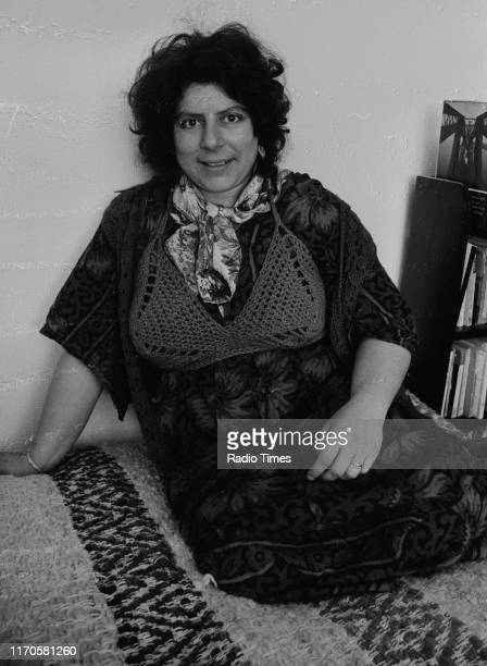 Actress Miriam Margolyes interviewed for the BBC Radio Radio 4 play 'Afternoon Theatre The Bashful Canary' as well as the BBC Radio 2 soap opera...