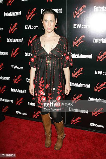Actress Miriam Shor attends the Upfront Party hosted by Entertainment Weekly and Vavoom at the Box May 15, 2007 in New York City.