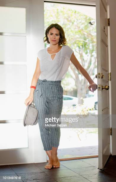 Actress Mirjam Novak attends the Giveback Day at TAP The Artists Project on August 8 2018 in Los Angeles California