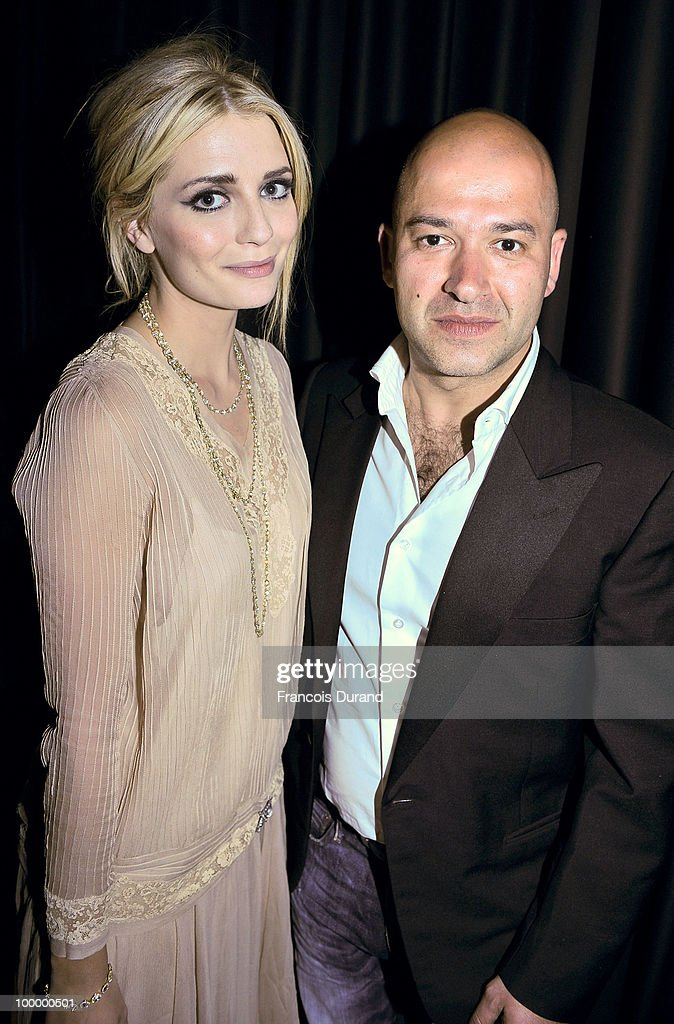 Actress Mischa Barton and Replay's CEO Matteo Sinigaglia attend the Replay Party during the 63rd Annual Cannes Film Festival at the Star Style Lounge on May 19, 2010 in Cannes, France.