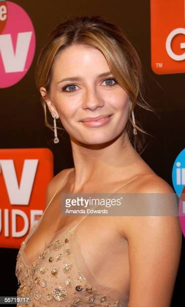 Actress Mischa Barton arrives at the TV Guide & Inside TV 2005 Emmy after party held at the Hollywood Roosevelt Hotel on September 18, 2005 in...
