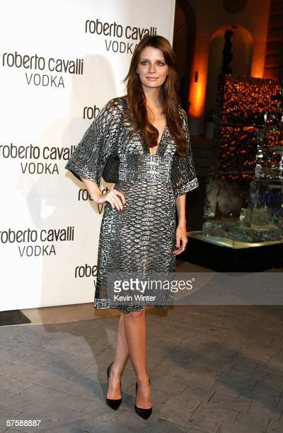 Actress Mischa Barton arrives at the US launch Of Roberto Cavalli Vodka on May 11 2006 in Bel Air California