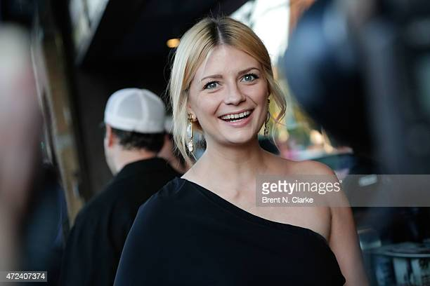 Actress Mischa Barton arrives for the New York Premiere of IFC Film's 'The D Train' hosted by The Cinema Society and Banana Boat held at the Landmark...